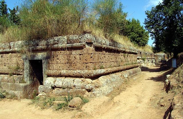 チェルヴェーテリとタルクイーニアのエトルリア墓地遺跡群の画像1