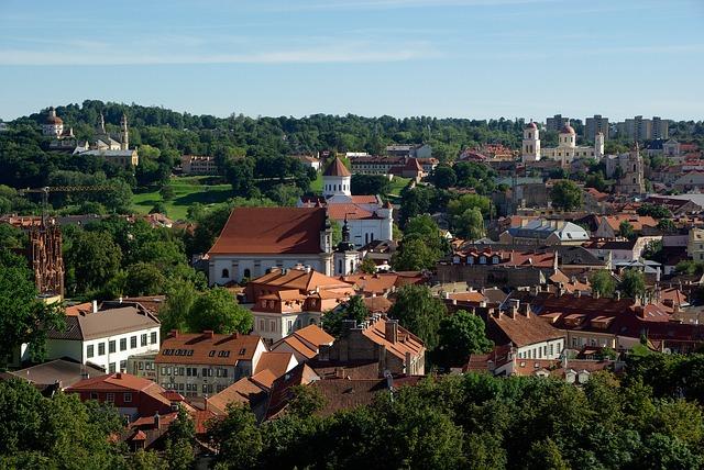 ヴィリニュスの歴史地区の画像1