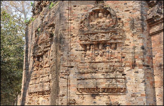古代イシャナプラの考古遺跡サンボー・プレイ・クックの寺院地区の画像2