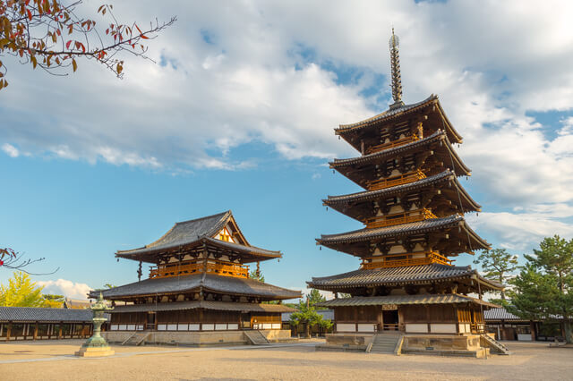 法隆寺地域の仏教建造物の画像1