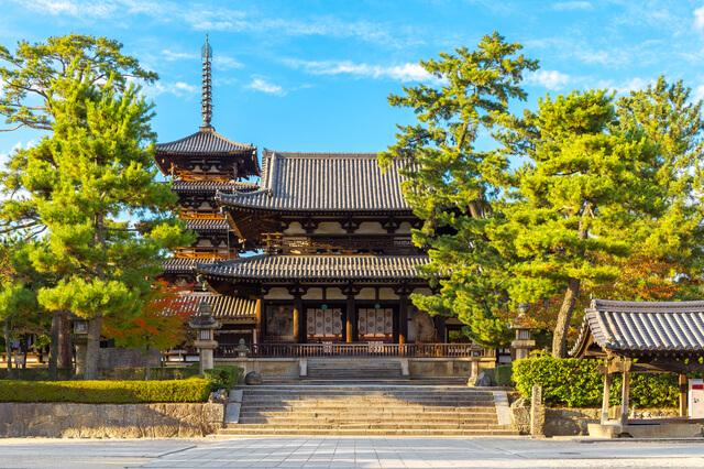 法隆寺地域の仏教建造物の画像17