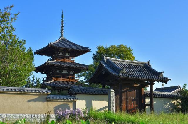 法隆寺地域の仏教建造物の画像18