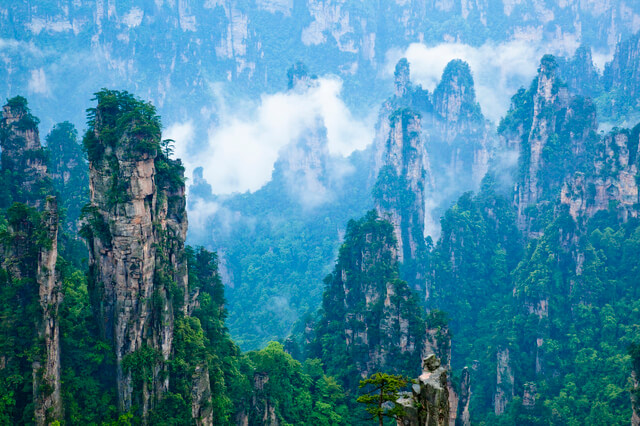 武陵源の自然景観と歴史地域の画像3