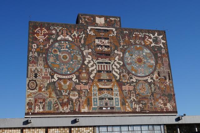 メキシコ国立自治大学(UNAM)の中央大学都市キャンパスの画像1