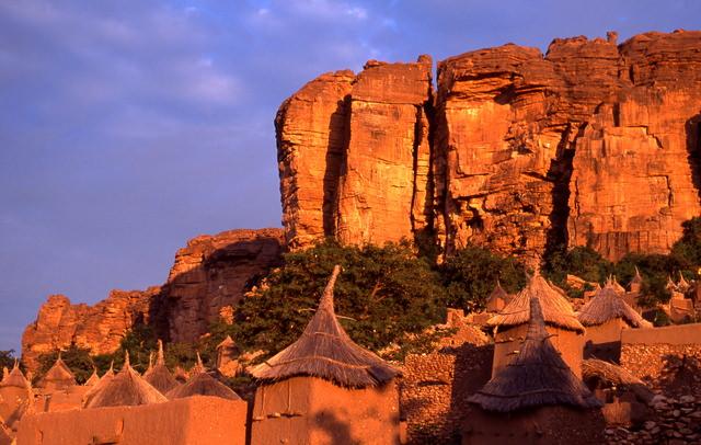 バンディアガラの断崖(ドゴン人の地)の画像1