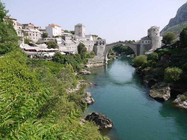 モスタル旧市街の石橋地区の画像3