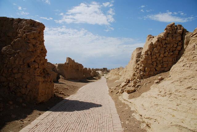 シルクロード:長安-天山回廊の交易路網の画像1