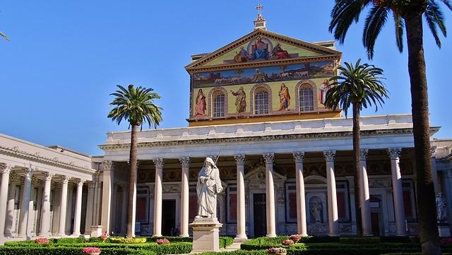 ローマ歴史地区、教皇領とサン・パオロ・フオーリ・レ・ムーラ大聖堂の画像5