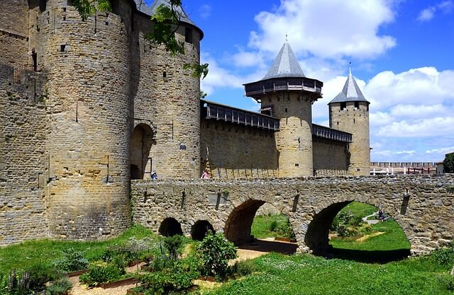 カルカッソンヌの歴史的城塞都市の画像3