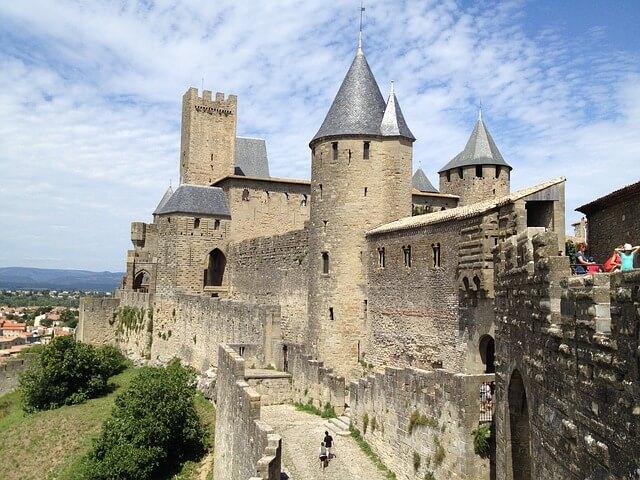 カルカッソンヌの歴史的城塞都市の画像1