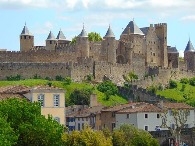 カルカッソンヌの歴史的城塞都市の画像4