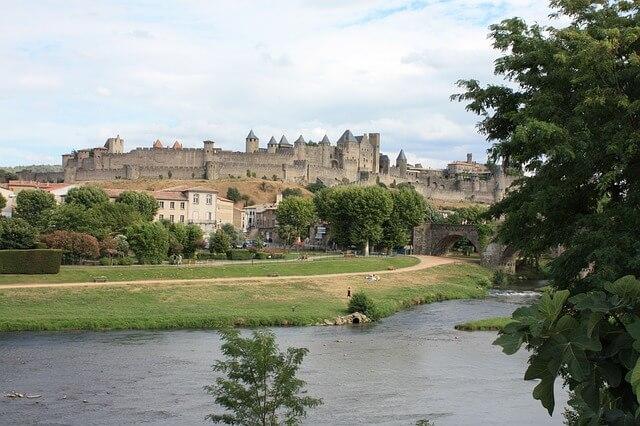 カルカッソンヌの歴史的城塞都市の画像5