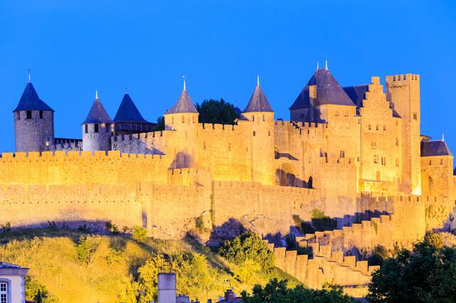 カルカッソンヌの歴史的城塞都市の画像8