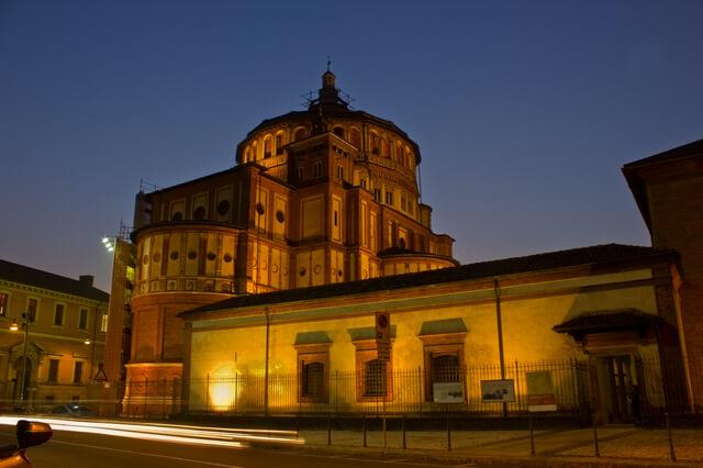 ミラノのサンタ・マリア・デッレ・グラツィエ教会とレオナルド・ダ・ヴィンチの「最後の晩餐」の画像3