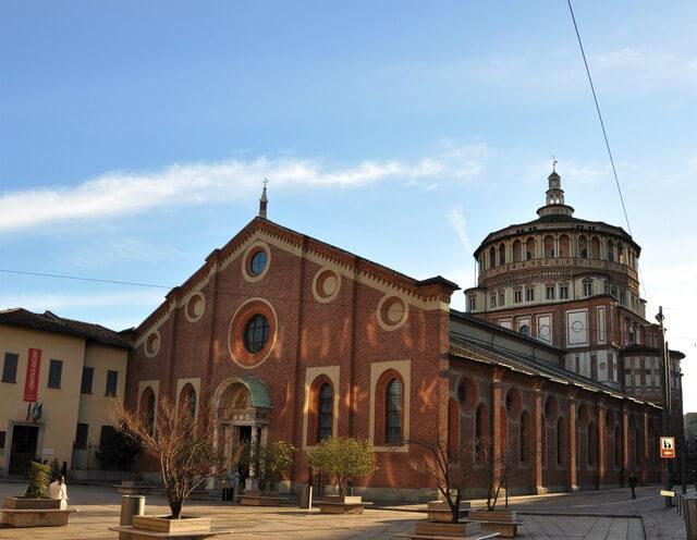 ミラノのサンタ・マリア・デッレ・グラツィエ教会とレオナルド・ダ・ヴィンチの「最後の晩餐」の画像1