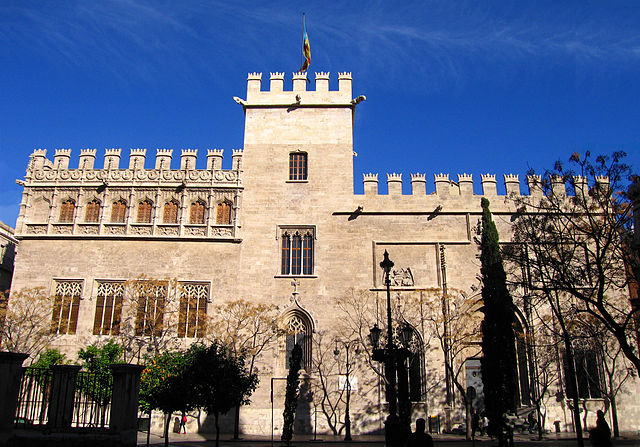 バレンシアのラ・ロンハ・デ・ラ・セダ