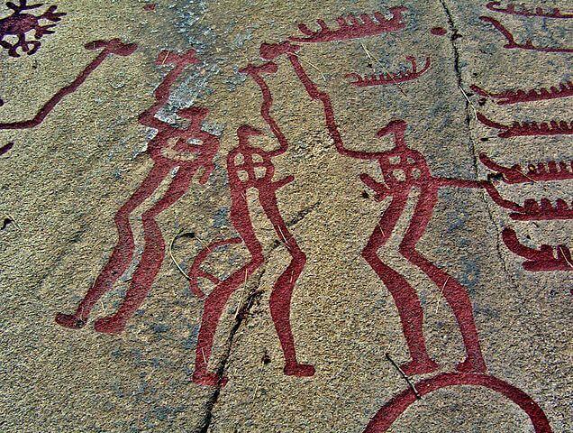 タヌムの線刻画群の画像1