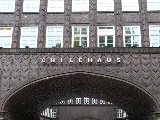 シュパイヒャーシュタットと、チリハウスのあるコントールハウス地区の画像3