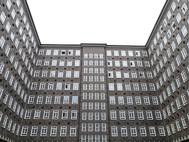 シュパイヒャーシュタットと、チリハウスのあるコントールハウス地区の画像4