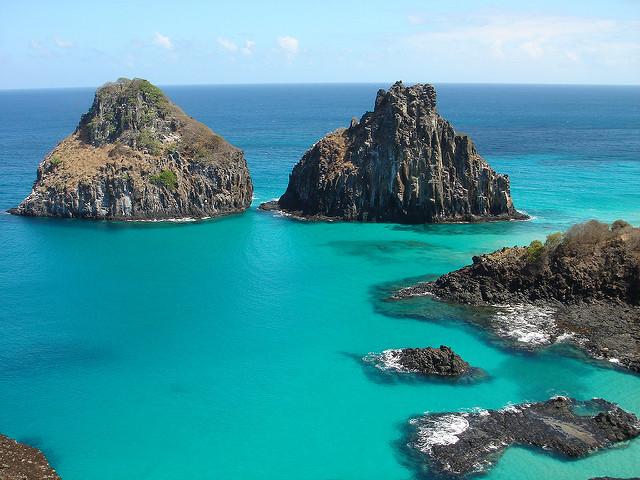 ブラジルの大西洋諸島:フェルナンド・デ・ノローニャとロカス環礁保護区群の画像1