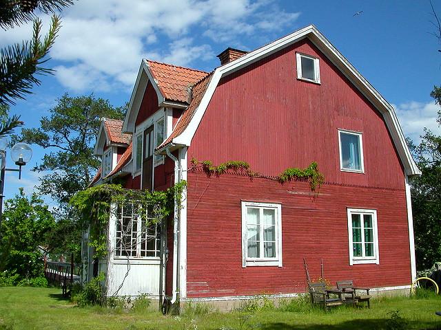 ヘルシングランドの装飾農場家屋群の画像1