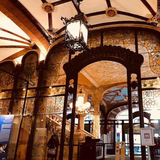 バルセロナのカタルーニャ音楽堂とサン・パウ病院の画像9
