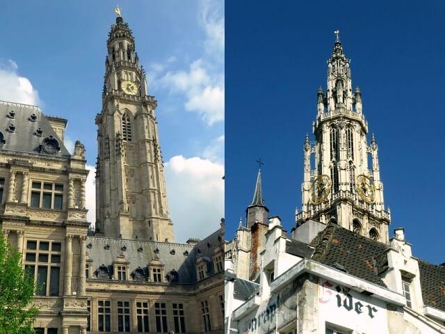 ベルギーとフランスの鐘楼群の画像1