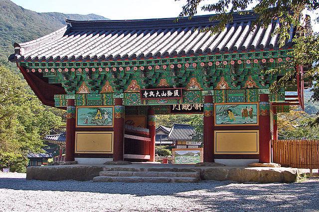 山寺(サンサ)、韓国の仏教山岳僧院の画像2