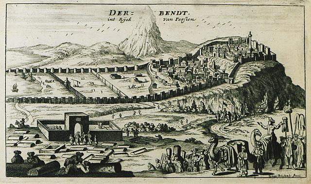 デルベントのシタデル、古代都市、要塞建築物群の画像1