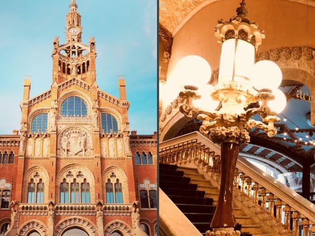 バルセロナのカタルーニャ音楽堂とサン・パウ病院の画像1