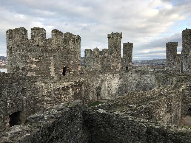 グウィネズのエドワード1世の城群と市壁群の画像6
