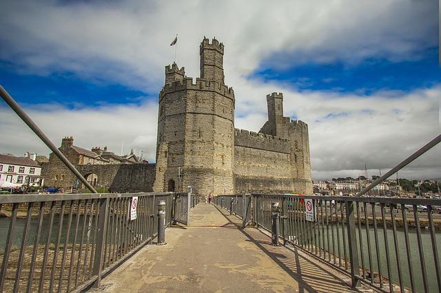 グウィネズのエドワード1世の城群と市壁群の画像5