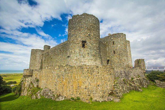 グウィネズのエドワード1世の城群と市壁群の画像8