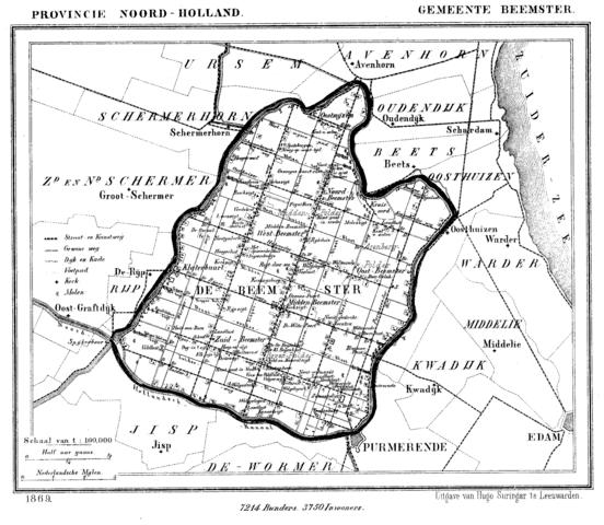 ベームスター干拓地(ドゥローフマーケライ・デ・ベームステル)の画像1