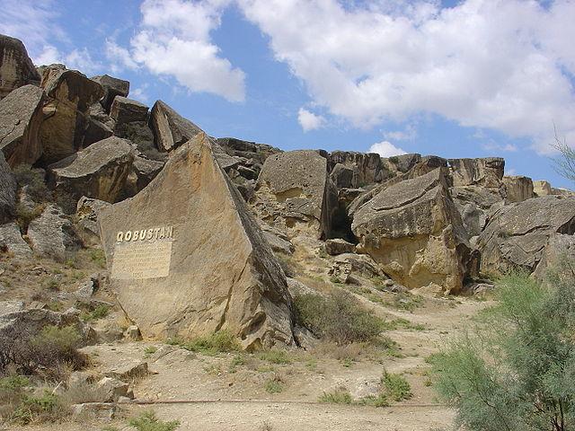 ゴブスタンのロック・アートと文化的景観の画像1