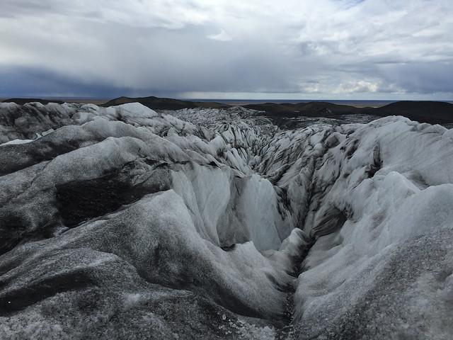 ヴァトナヨークトル国立公園-炎と氷のダイナミックな自然の画像2
